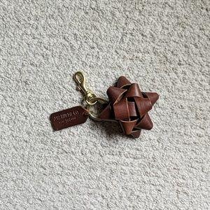 JW Hulme Leather Now Key Chain